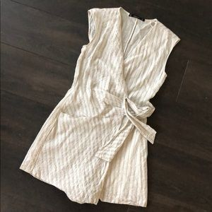 Zara stripe romper